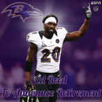The @Ravens announce that Pro Bowl safety Ed Reed will officially retire on Thursday. http://t.co/vEsJeIPKdP