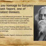 I bow to Gurudev Rabindranath Tagore on his birth anniversary. http://t.co/olcyvH6EOI