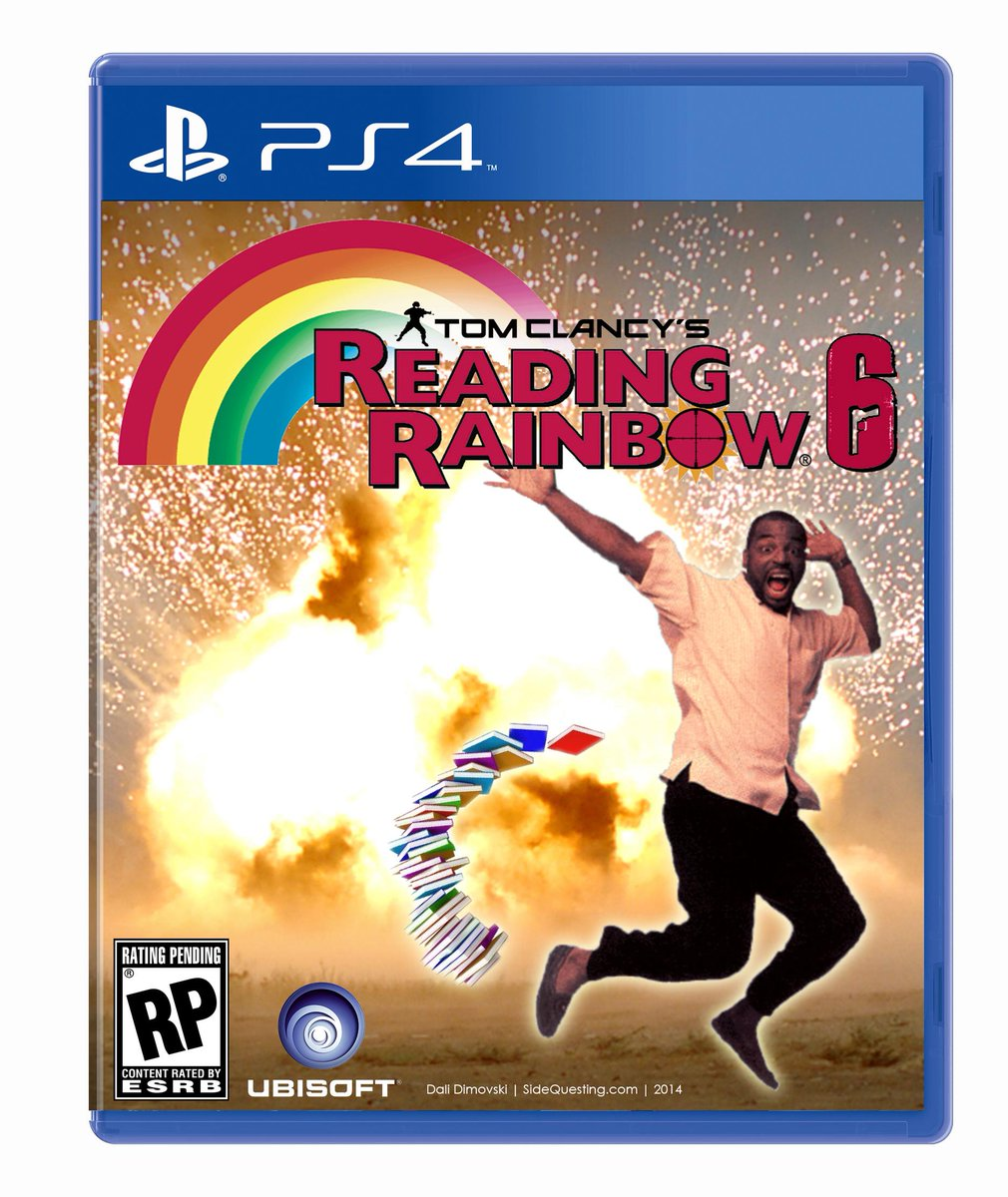 Tom Clancy's Reading Rainbow Six #VideoGameSitcoms @midnight http://t.co/GQGJyGp2HN