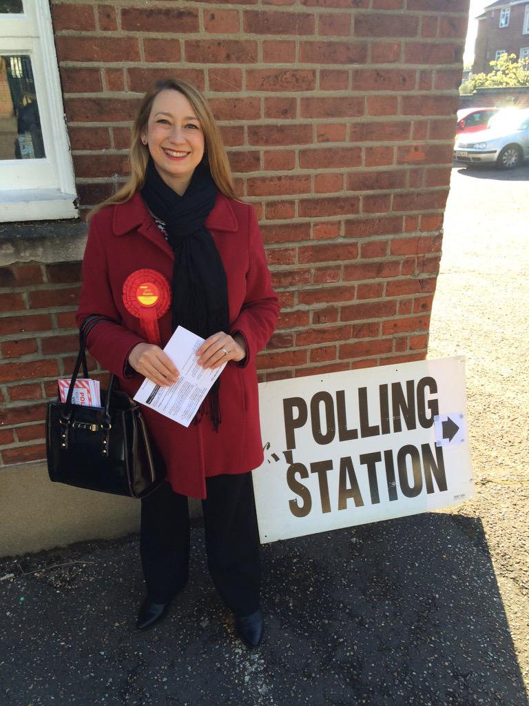 I've voted! Please #VoteLabour today! http://t.co/Qy4XQTgMEU