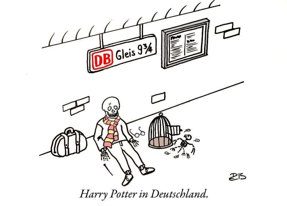 Harry Potter in Deutschland :D #db #strike http://t.co/UR6kc21hOg