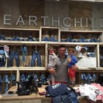 Cadence & Carter shopped up a storm at @Earthchild_shop today... New range for kids is amazing ! http://t.co/11E7y2pT9T