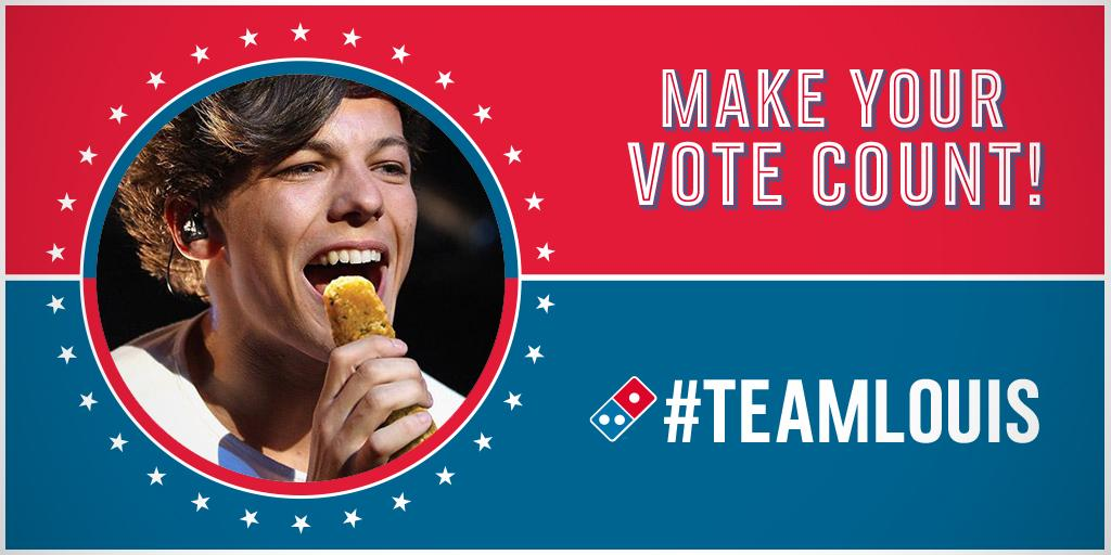 Don't sit on the fence on this one. Every #vote for @Louis_Tomlinson counts. #TeamLouis #IVoted http://t.co/uh1rarZTSK