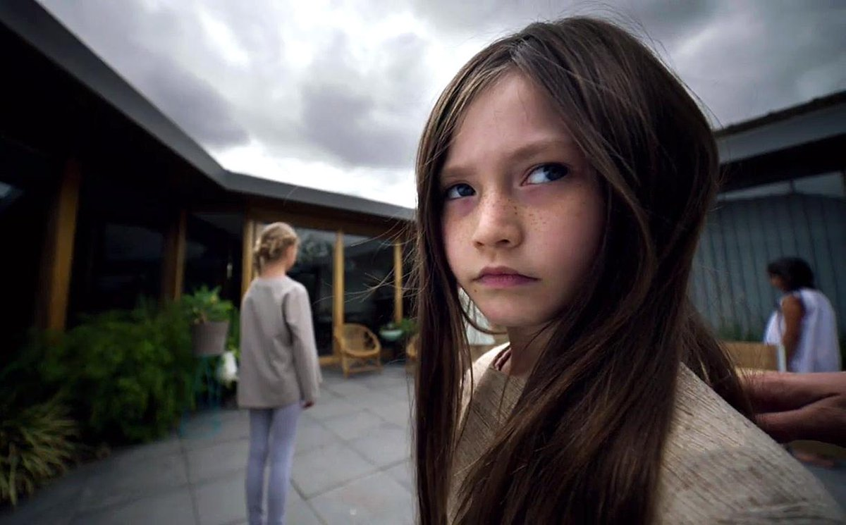 Watch an exclusive trailer for the chilling @Syfy series, ChildhoodsEnd: