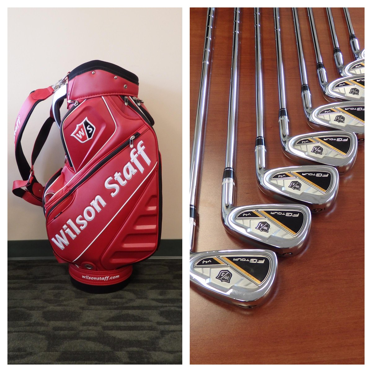 Thx to @WilsonGolf who gave us irons + a bag on Media Day with @Streels54 for 1 lucky fan. RT for a chance to win! http://t.co/3FiSfnFqZ9