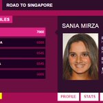 RT @tarequelaskar: Always nice when you open the @WTA rankings page and see this. @MirzaSania you go girl! http://t.co/kTH3iNTrvA