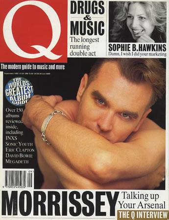That time I was on the cover of @QMagazine with #Morrissey - September 1992 #tbt http://t.co/oEJ5DKvHiY