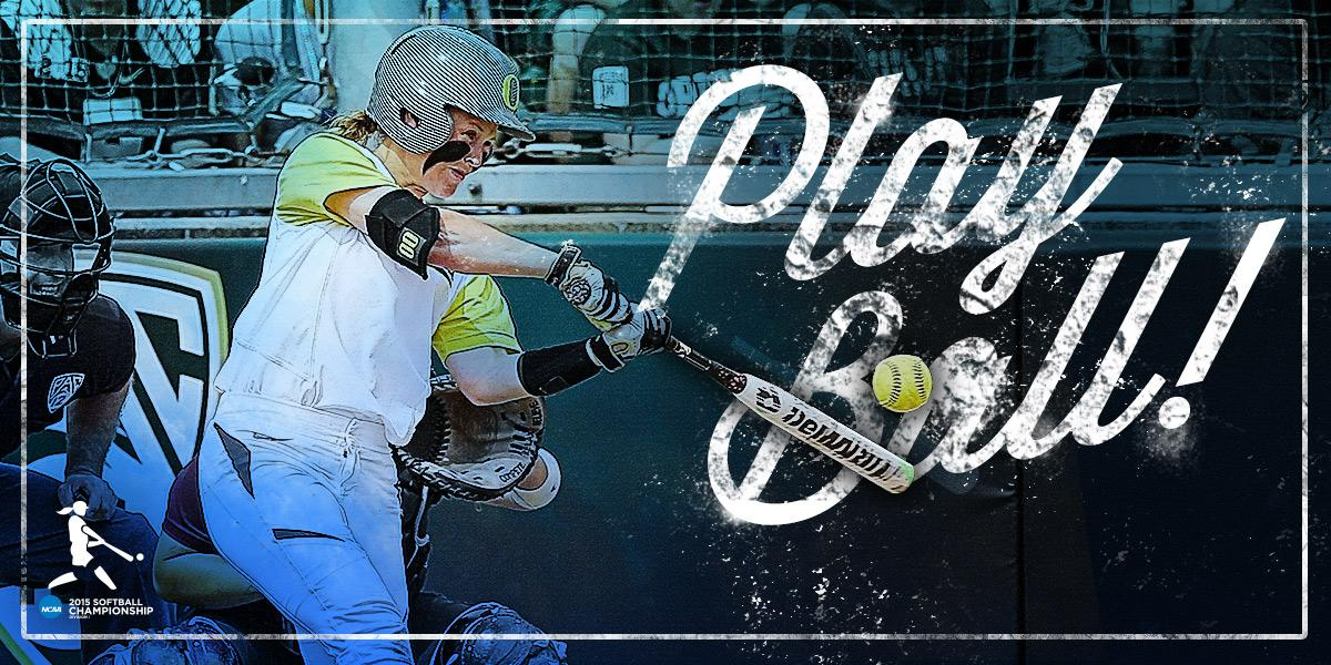 The 2015 #d1softball championship is officially underway! Good luck to all teams competing on the #RoadtoWCWS! http://t.co/YufTunoPXa