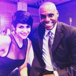 With the legend #CarlLewis at the Times of India Sports Awards http://t.co/wLoDTffwB0