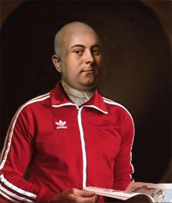 How Handel *might* look if he was about now. Hear his music 12 May 7pm @southbankcentre or at 9.45pm @OAENightShift http://t.co/MUhXyPnFjx