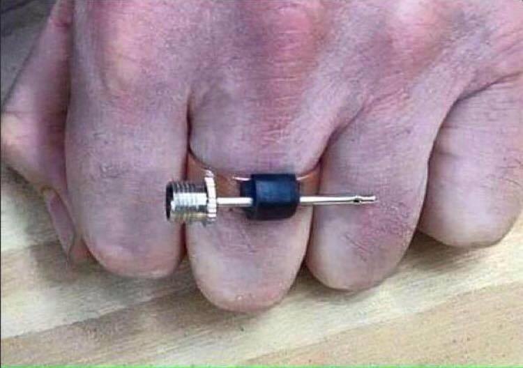 The 12s will love this. Pats new Super Bowl rings. http://t.co/LkdQiFDTyX