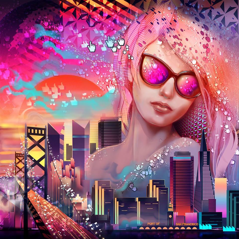 Painter Master Brian Pollett created this stunning image using both @CorelPainter and CorelDRAW! #Art #DigitalArt http://t.co/MG5n4gg0XO