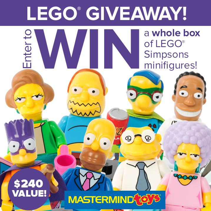 Have you entered to #WIN a FULL Box of #TheSimpsons #LEGO Minifigures? Enter here: http://t.co/vrVSjKACAL http://t.co/B418cOs80r