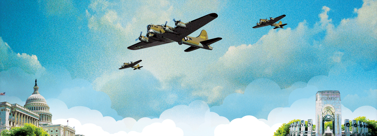 See #WWII era planes during tmrw's #DCflyover. Watch from the Potomac w/ @KBBoathouse:  http://t.co/1oKWv4k8b7 http://t.co/fgk79ImGjo