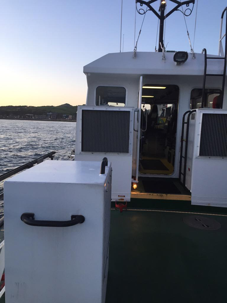 Off to Cumbrae to collect ballot boxes #ayrshirevotesnac http://t.co/xefVJcJX37