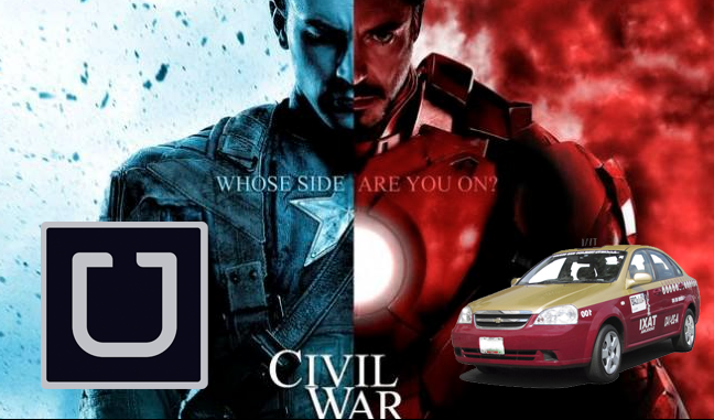 ¿De qué lado estás tú?  | #UberSeQueda | Civil War http://t.co/MlP30z0sjW