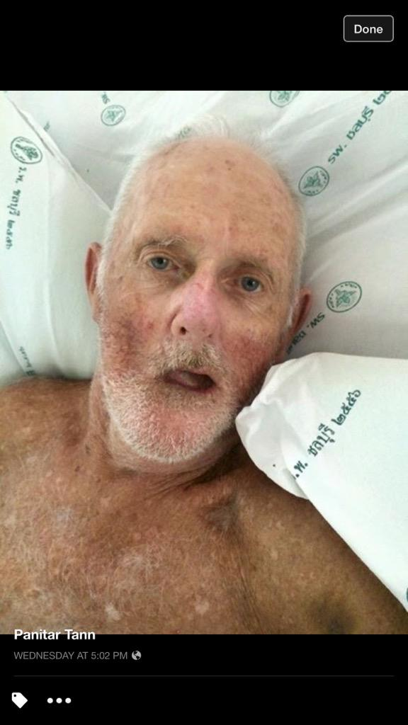 please help this Swedish guy to find his family. His name is Arne Larssor. He admit at Chonburi Hospital. http://t.co/hqGCufMHLA