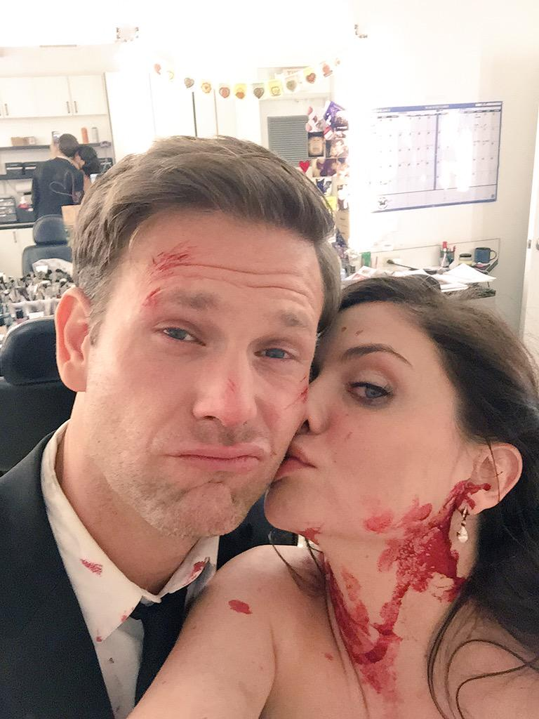 #TVD #behindthescenes @ErnestoRiley  Thank you for the beautiful season Matty. One more week until the finale! http://t.co/mhoFhX5khB