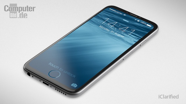 iPhone 7 Concept Features a Home Button That is Integrated Into the Screen [Images... http://t.co/MtH4a7xaB3 http://t.co/8UzQczkrla