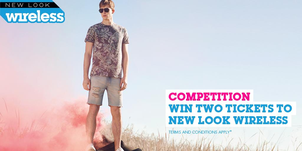 Want to #win two tickets to #NewLookWireless? Simply FOLLOW @NewLook_Men and RETWEET to enter our #competition http://t.co/4jsOiO0b0w