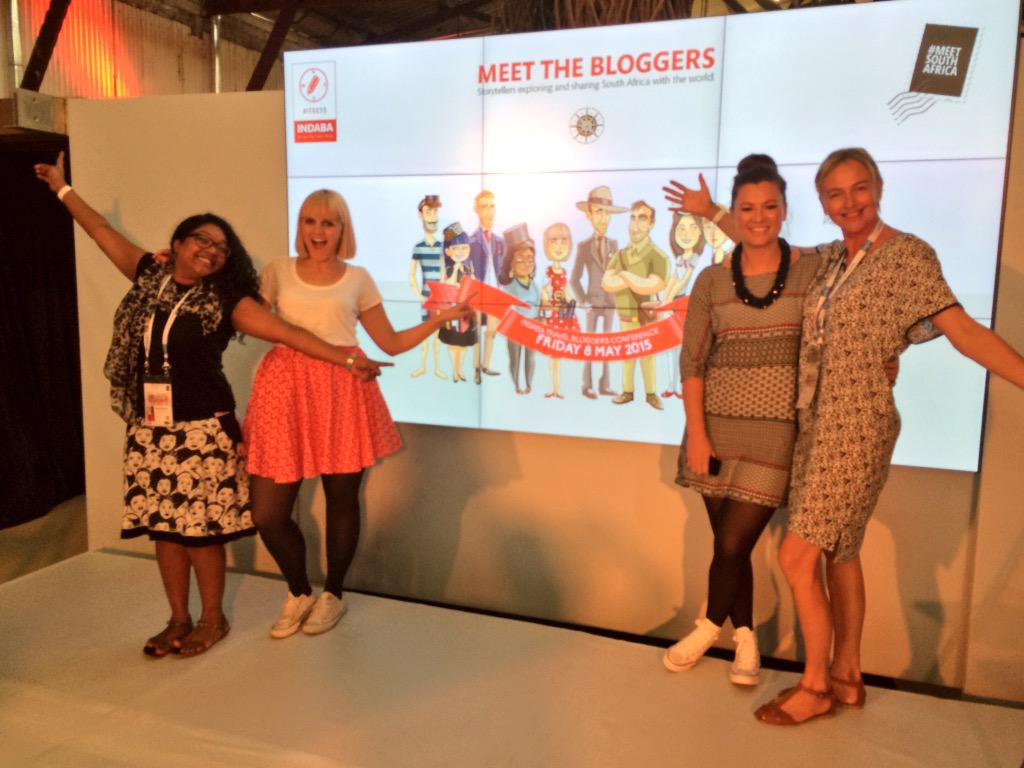 'Blogger babes' up next at #ITBC15 talking all things travel blogging with bests @Kate_Els @NatalieRoos @MzansiGirl http://t.co/dN0i2NhlJM