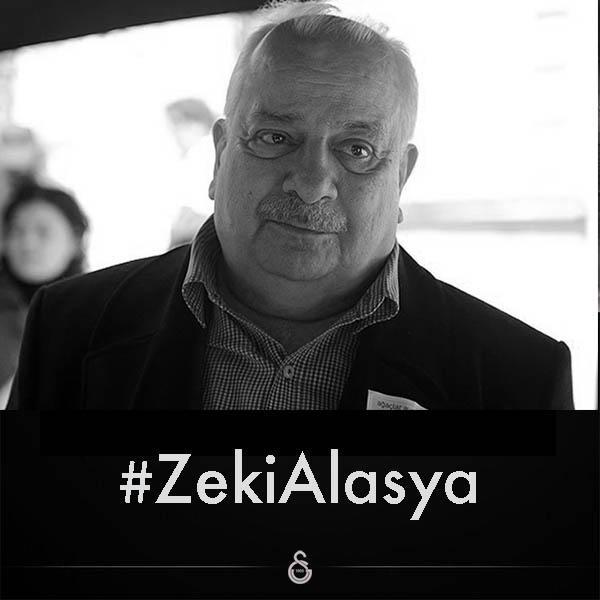 Galatasaray SK (@GalatasaraySK): Başımız sağolsun... #ZekiAlasya http://t.co/g4cMA4fg7C
