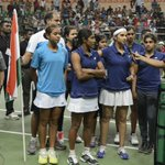 RT @enright_pr: Memories #fedcup2015 with victorious #TeamIndia #tennis @FedCup #JaiHo @MirzaSania http://t.co/717sy9vRVz