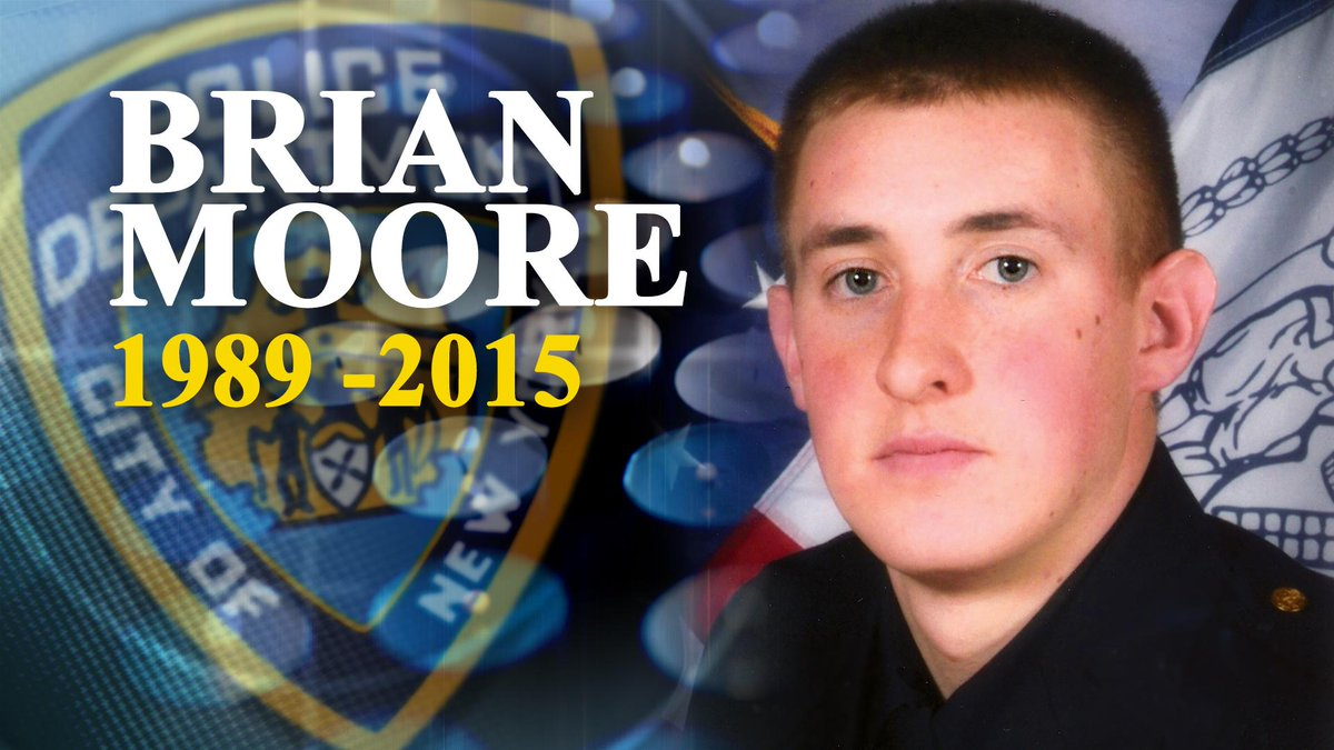 Today we pay our respects to fallen NYPD Officer Brian Moore. http://t.co/NmpGxOsbON