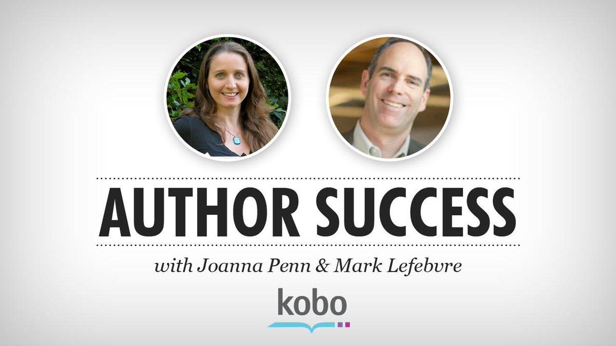 Joanna Penn @thecreativepenn & Mark Lefebvre @kobobooks Talk Author Success & Networking  http://t.co/d1zPdW7kjN http://t.co/hoNMKfhOrI