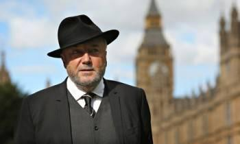 At least George Galloway can start his Victorian ghost-hunting psychic detective agency now. http://t.co/E5yOqVYMdz
