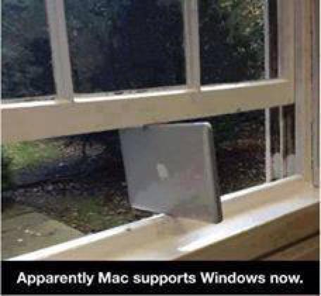 Mac supports Windows. http://t.co/1JoKmEFSxV
