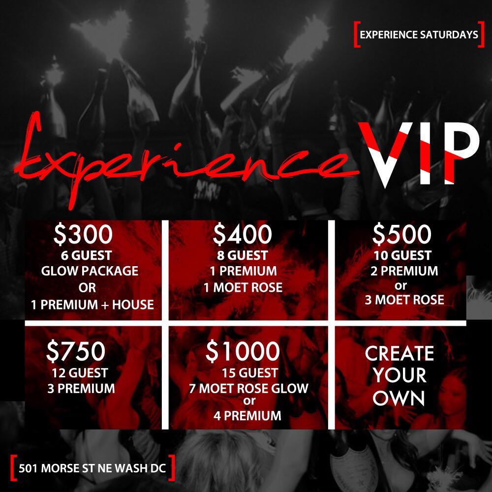 RSVP your table @ #ExperienceSaturdays Call 3012571257 for Specials Bday Packages are available!! http://t.co/rwsjWo1gyC