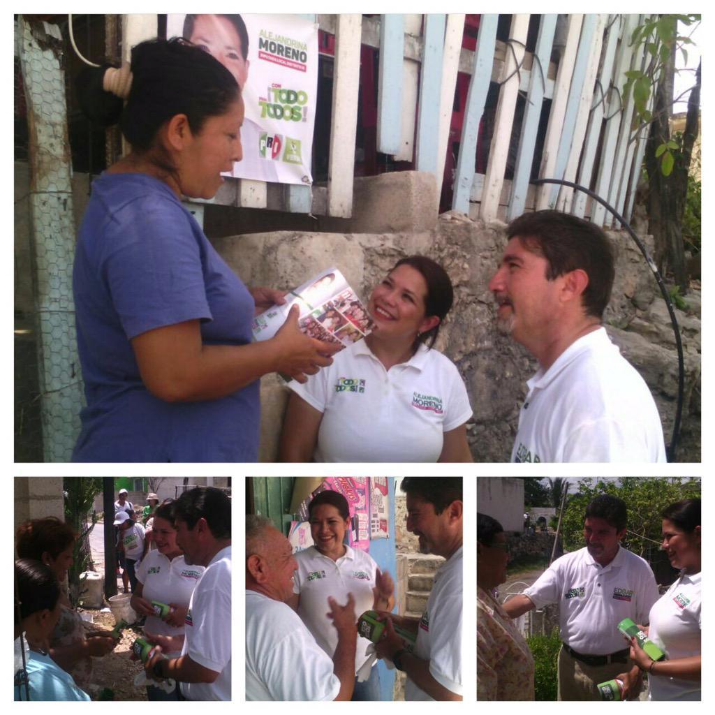 Muchas gracias vecinos de la Col. Esperanza por recibirnos nuevamente #JuntosPorEl3 @Edgarr_Hdez @contodoparatodo http://t.co/5zKRJaYS0d