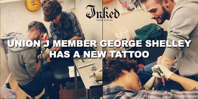.@UnionJworld's @georgeujworld got tattooed & tattooed artist @MarcPrimeTattoo. pics here: http://t.co/O0Q24lKosW http://t.co/pXAvm7SpTw