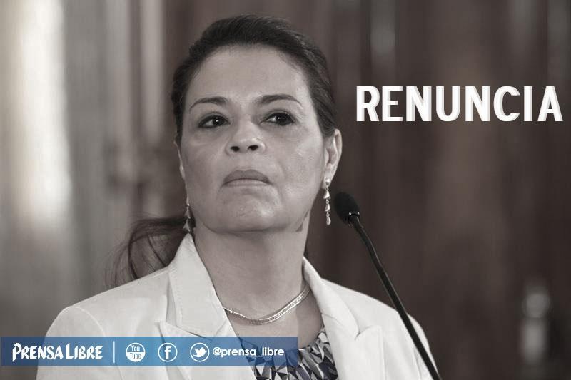 URGENTE   Renuncia la vicepresidenta @roxanabaldetti: http://t.co/3c63WGVPtb #CasoLaLinea #CasoSAT http://t.co/pTEmhkLY9p