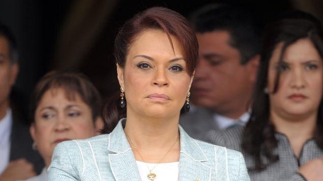 (URGENTE): Roxana Baldetti renuncia al cargo de Vicepresidenta de la República de Guatemala. Foto: AFP. http://t.co/Ko404rrqfe
