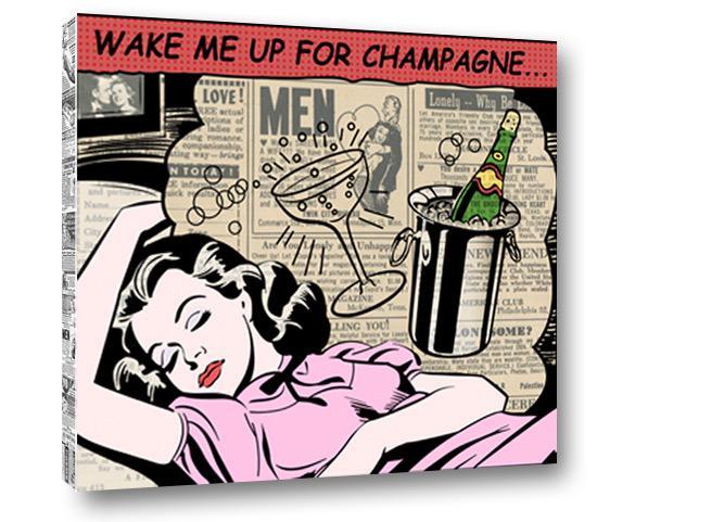 Wake me up for #champagne #kingofpopart http://t.co/FSEMVI2PAU
