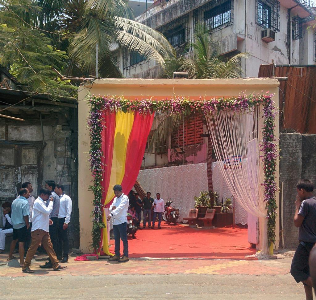 Arun gawli son wedding