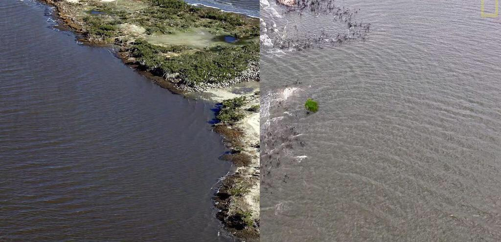 One GIF shows how the BP oil spill made an entire island vanish http://t.co/X0MU8Ck4Cq via @micnews http://t.co/Am04L4uJ2B