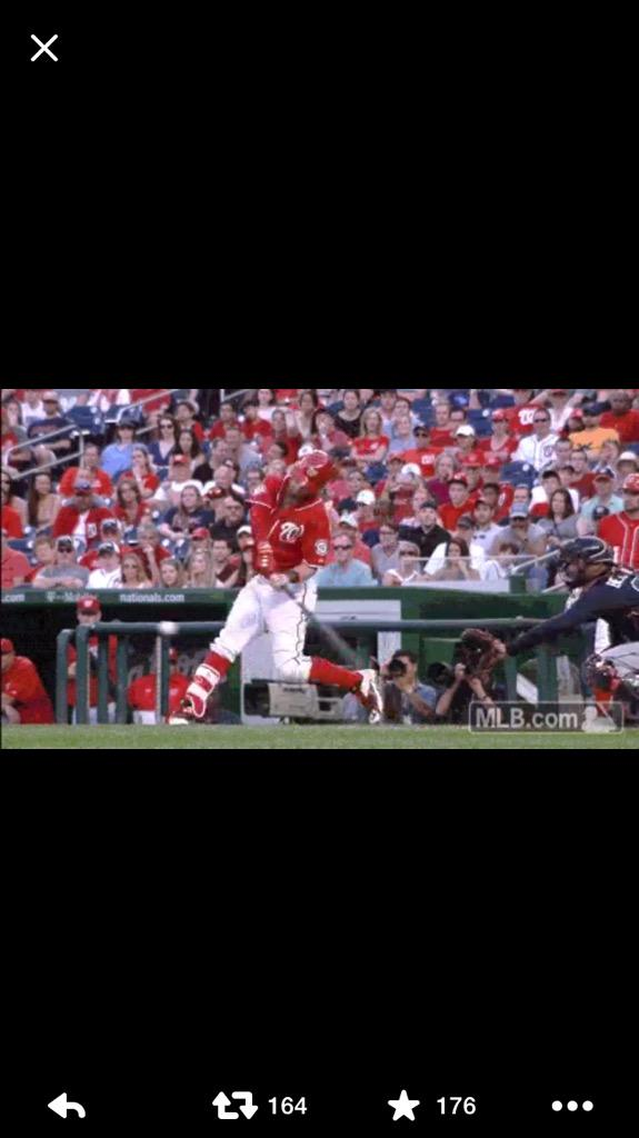 One of worst things you can tell a kid is to swing level. On a low pitch look how far below his hands the barrel is. http://t.co/xCoRd8WsdL