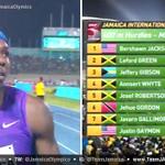 RT @JamaicaOlympics: Bershawn Jackson 48.47, Leford Green 2nd 49.22  http://t.co/GwQnieX6ft