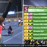 RT @JamaicaOlympics: Jamaican born Sanya Richards-Ross (USA) wins Women's 400M in 49.95 #JAInvitational #TeamJamaica #Jaminate #JaInvite h…