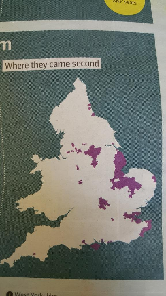 This map of UKIP'S 2nd places in the Sunday Times could double as one of educational underperformance. http://t.co/RFmIDj0rFs