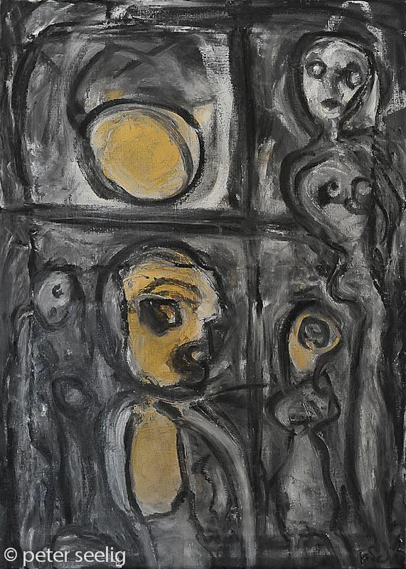 CONTRA MUNDUM, Now He Was Finally Alone  http://t.co/OwohmtQG5G #art #painting http://t.co/mjgG0IZMmX