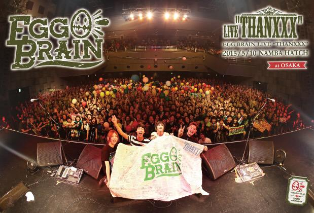 "EGG BRAIN""THANXXX""at OSAKA photo by SUZUKI KOHEI http://t.co/dfv17mQc9C"