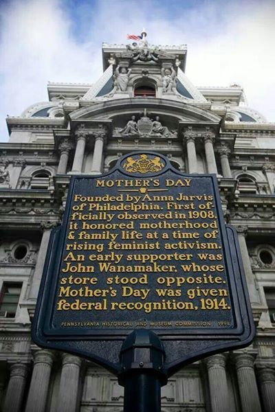 Did you know #MothersDay got its start in @VisitPhilly? Share how you're celebrating in PA! http://t.co/xcmtVKzpxc