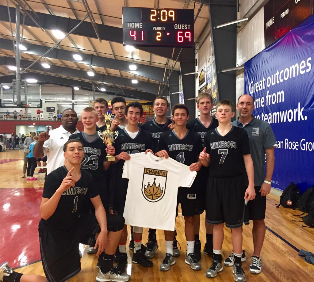 @D1Minnesota 15U Kings of the Courts Champions. http://t.co/sHYiIth5zC