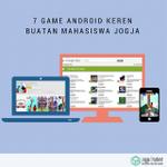 7 Game Android Keren Buatan Mahasiswa Jogja. https://t.co/9WwIS5EsLl https://t.co/BvmPY535E7