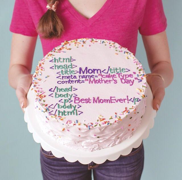Now THAT is a Mother's Day cake, @GirlsWhoCode https://t.co/99S4Bo0iHu http://t.co/NVMBsjDP0E