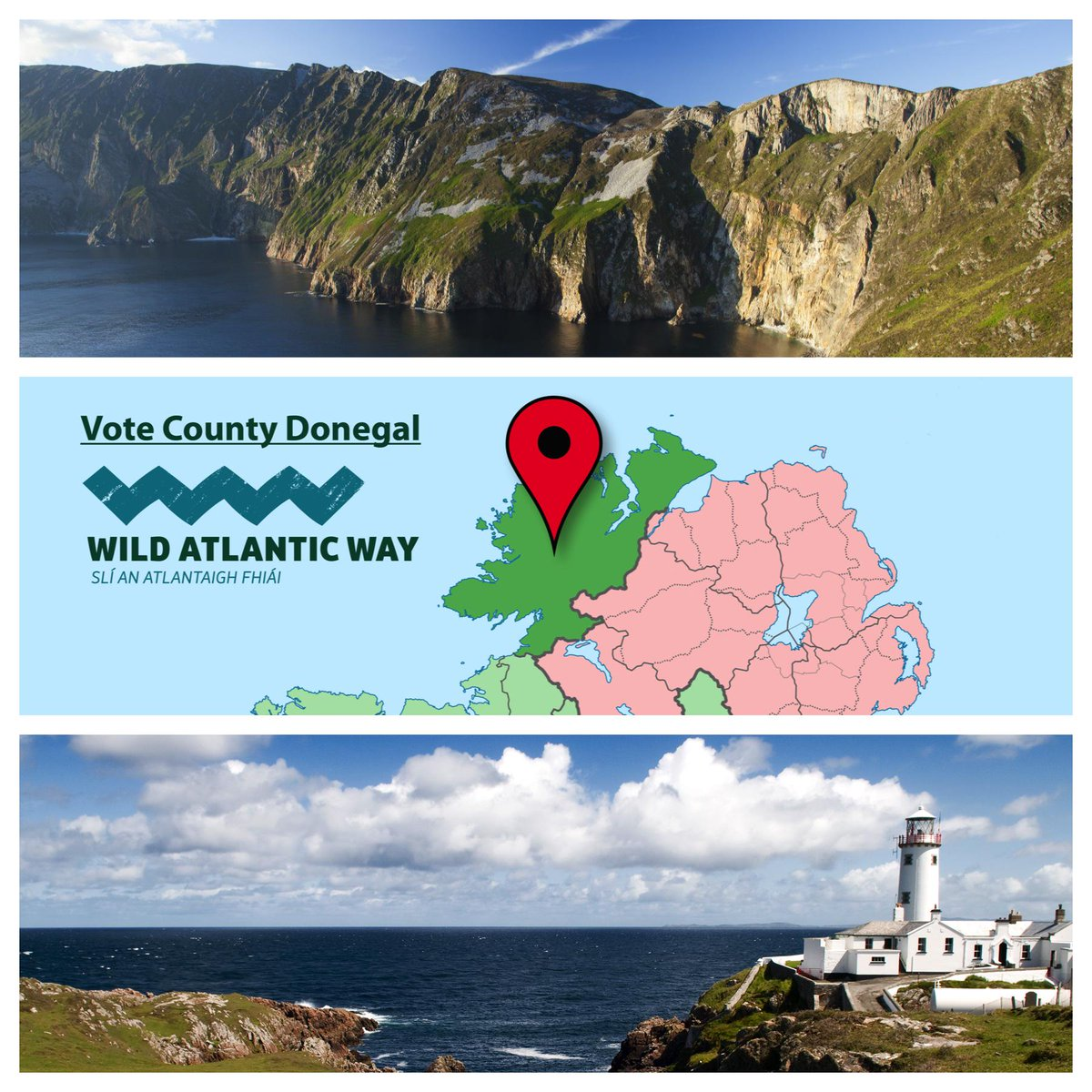 Please fly the flag for #Donegal and vote for 'The Best Day Out in Ireland' Irish Times: http://t.co/hXQu3GL8iI http://t.co/rgEWmGtaQ1
